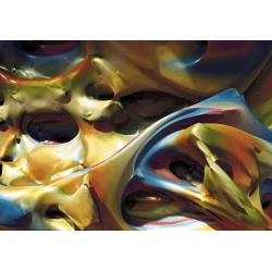 Fraktal 3 - 100 x 70 cm