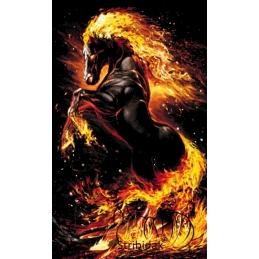 Firehorse - 60 x 100 cm