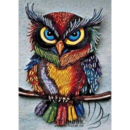 Owl - 50 x 70 cm