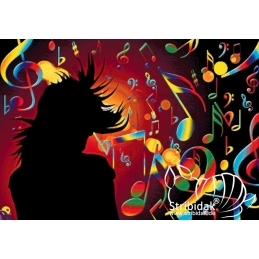 Music - 100 x 70 cm