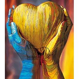 Heart - 80 x 70 cm