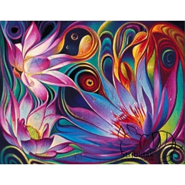 Flower - 90 x 70 cm