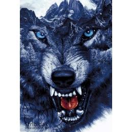 Wolf - 70 x 100 cm