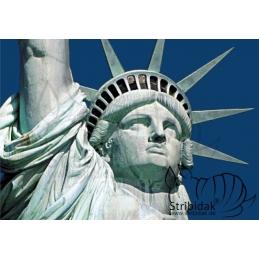 Miss Liberty - 100 x 70 cm