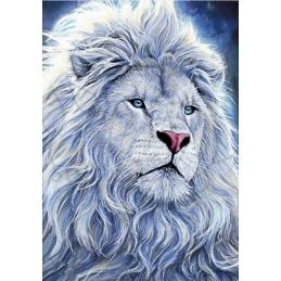 White Lion - 70 x 100 cm